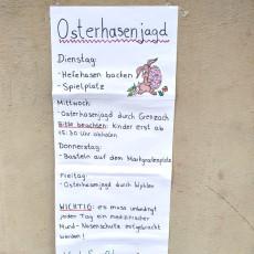Osterhasenjagd