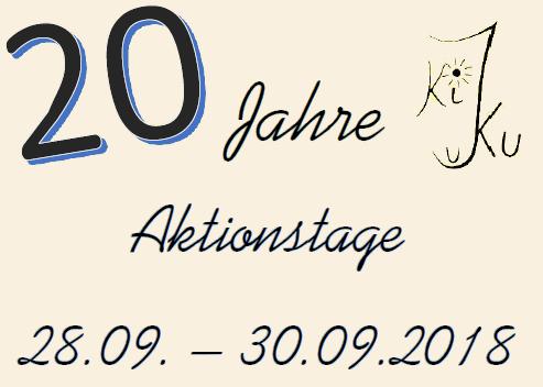 Wir feiern unser 20. Jubiläum